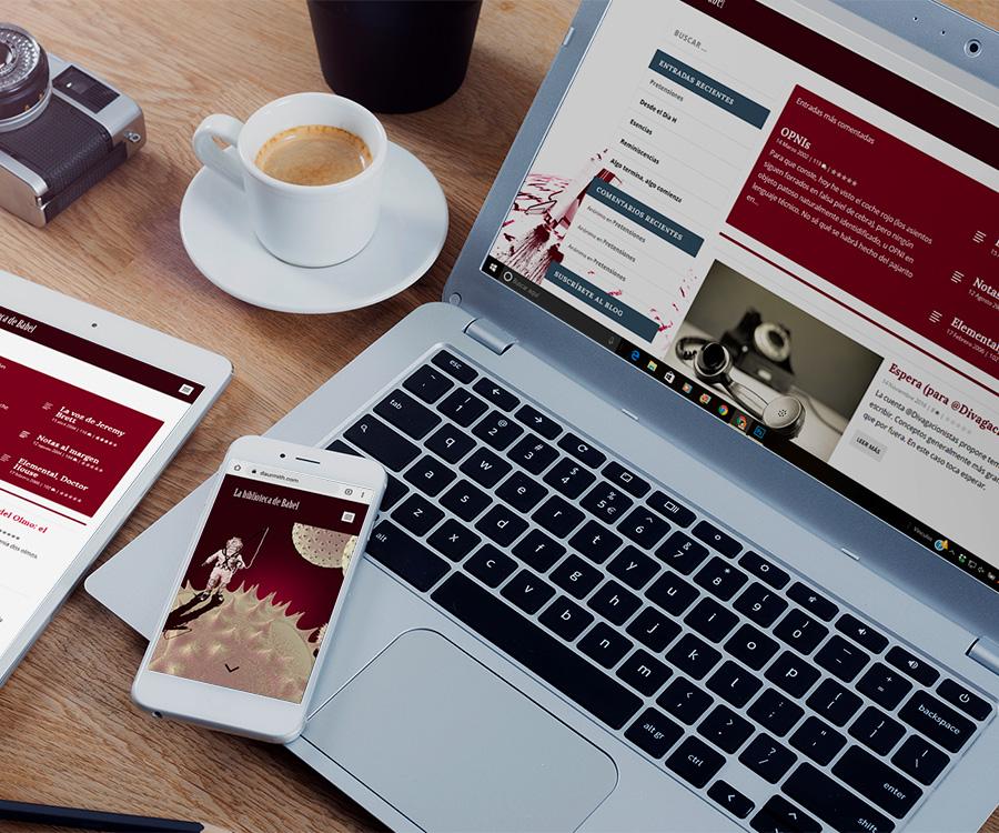 Desarrollo y diseño de blog profesional WordPress