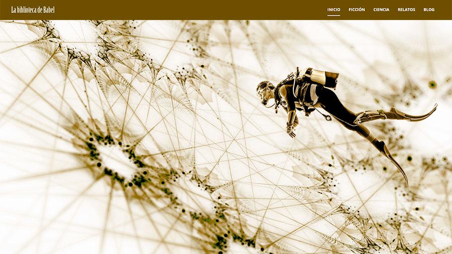 Diseño gráfico para portada de blog wordpress