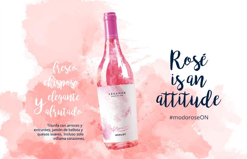 Marketing del vino rosado