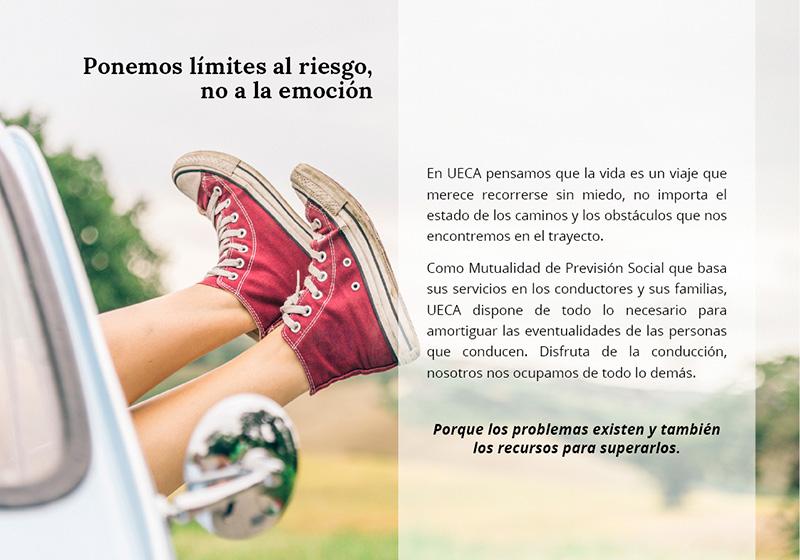 Presentación comercial de empresa para la Unión Española de Conductores de Automóviles