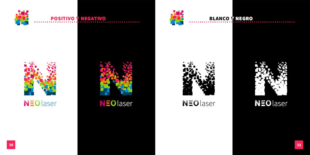 versiones del logo